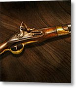 Gun - Pistols At Dawn Metal Print by Mike Savad