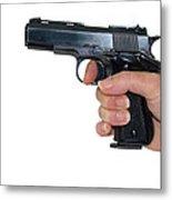 Gun Safety Metal Print by Charles Beeler