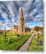Gwyddelwern Church Metal Print by Adrian Evans