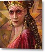 Gypsy Woman Metal Print by Ciro Marchetti