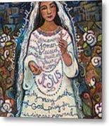 Hail Mary Metal Print by Jen Norton