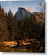 Half Dome Spring Metal Print by Bill Gallagher