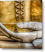 Hand Of Buddha Metal Print by Adrian Evans