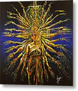 Hands Of Compassion Metal Print by Karina Llergo
