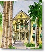 Hanford - California Sketchbook Project Metal Print by Irina Sztukowski