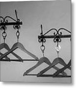 Hangers Metal Print by Dany Lison