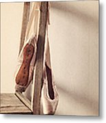 Hanging In The Moment Metal Print by Amy Weiss
