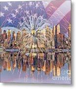 Happy Birthday America Metal Print by Susan Candelario