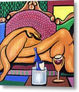 Happy Hour Metal Print by Anthony Falbo