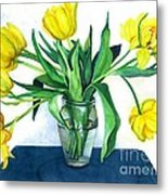 Happy Spring Metal Print by Barbara Jewell