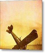 Hard Landing Metal Print by Edward Fielding