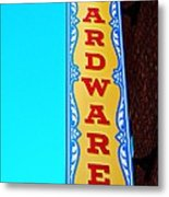 Hardware Store Metal Print by Chris Berry