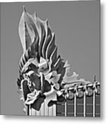 Harold Washington Library Chicago Metal Print by Christine Till
