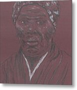 Harriet Tubman Metal Print by Bob Gumbs