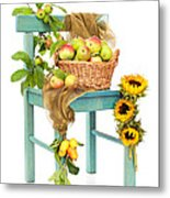 Harvest Fayre Metal Print by Amanda And Christopher Elwell