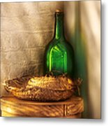 Hat Maker - A Hat Box And It's Hat  Metal Print by Mike Savad