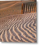 Hatteras Dunes Metal Print by Steven Ainsworth