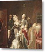 Hauer, Jean Jacques 1751-1829. Louis Metal Print by Everett