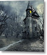 Haunted House Metal Print by Jelena Jovanovic