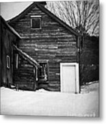 Haunted Old House Metal Print by Edward Fielding
