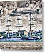 Hdr Tall Ship Boat Pirate Sail Sailing Photography Gallery Art Image Photo Buy Sell Sale Picture  Metal Print by Pictures HDR