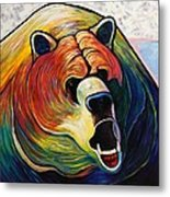 He Who Greets With Fire Metal Print by Joe  Triano