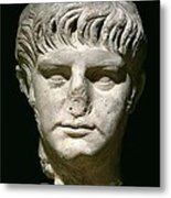 Head Of Nero Metal Print by Anonymous