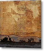 Heading West Metal Print by Carol Leigh