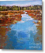 Heading West No. 5 Metal Print by Melody Cleary