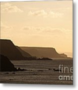 Headland Metal Print by Anne Gilbert