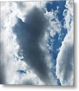 Heart I Metal Print by Anna Villarreal Garbis