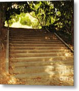 Heavenly Stairway Metal Print by Madeline Ellis