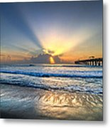 Heaven's Door Metal Print by Debra and Dave Vanderlaan