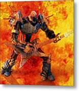 Heavy Metal Metal Print by Frederico Borges