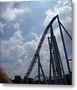 Hershey Park - Storm Runner Roller Coaster - 12122 Metal Print by DC Photographer