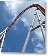 Hershey Park - Storm Runner Roller Coaster - 12123 Metal Print by DC Photographer