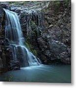 Hiawatha Falls Metal Print by Aaron S Bedell