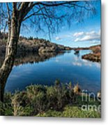 Hidden Lake Metal Print by Adrian Evans