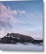 High Above The Clouds Metal Print by Jon Glaser