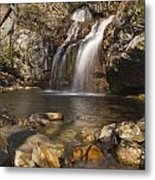 High Falls Talledega National Forest Alabama Metal Print by Charles Beeler