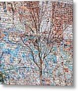 High Line Palimpsest Metal Print by Rona Black