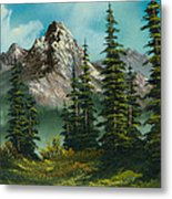 High Meadow Metal Print by C Steele