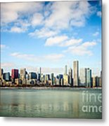 High Resolution Large Photo Of Chicago Skyline Metal Print by Paul Velgos