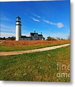 Highland Point Light Metal Print by Catherine Reusch  Daley