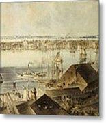 Hill, John William 1812-1879. View Metal Print by Everett