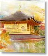 Historic Monuments Of Ancient Kyoto  Uji And Otsu Cities Metal Print by Catf