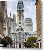 Historic Philly Metal Print by JC Findley