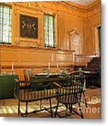 Historic Supreme Court Metal Print by Olivier Le Queinec