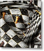 Hobby - Chess - Your Move Metal Print by Mike Savad
