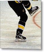 Hockey Dance Metal Print by Karol Livote